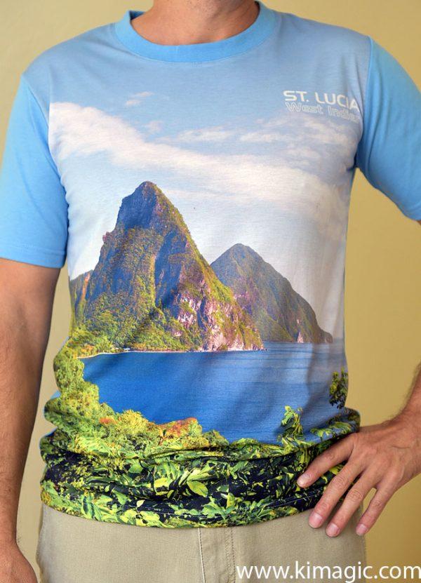 Pitons Digital T-shirt