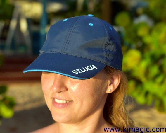Baseball Cap HappyBarracuda St.Lucia Navy