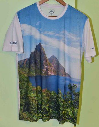 T-shirt HappyBarracuda St. Lucia Pitons