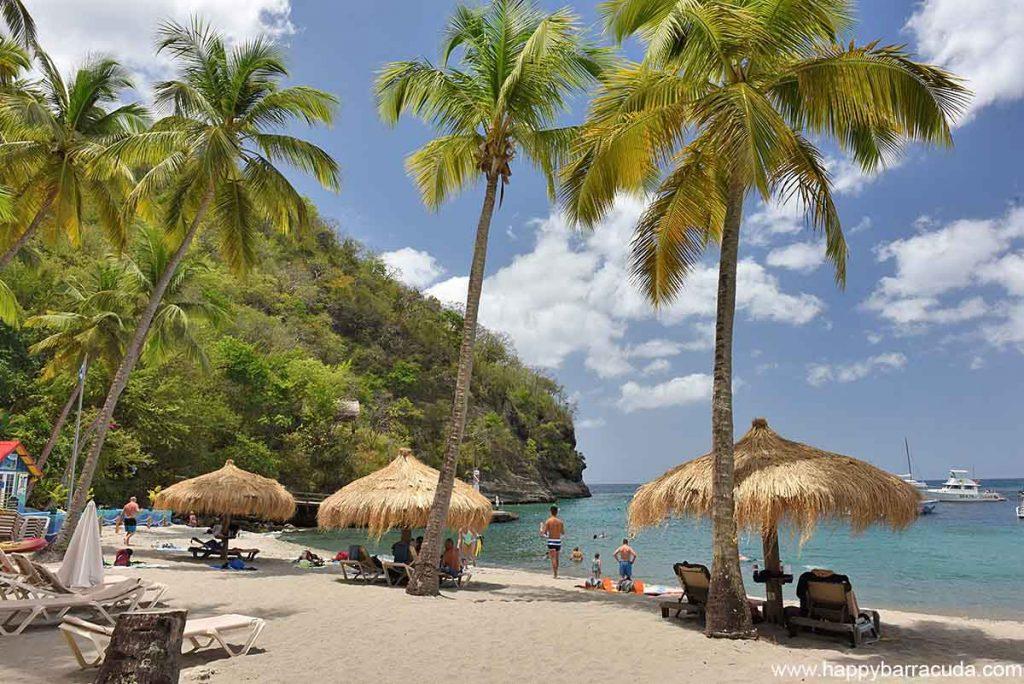 Anse Chastanet Beach in Saint Lucia
