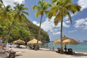 Anse Chastanet Beach in Saint Lucia