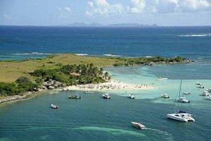 Sint Maarten Ile de Pinel Beach