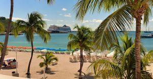 Sint Maarten Philipsburg Great Bay Beach