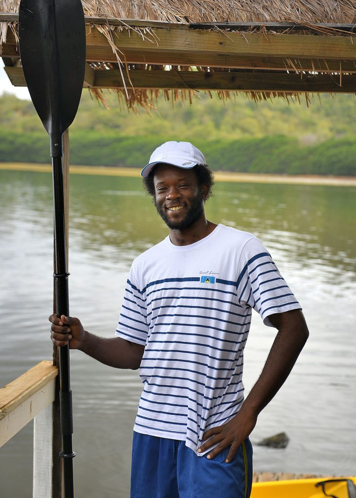 Saint Lucia Kayak specialist, Marken Charles