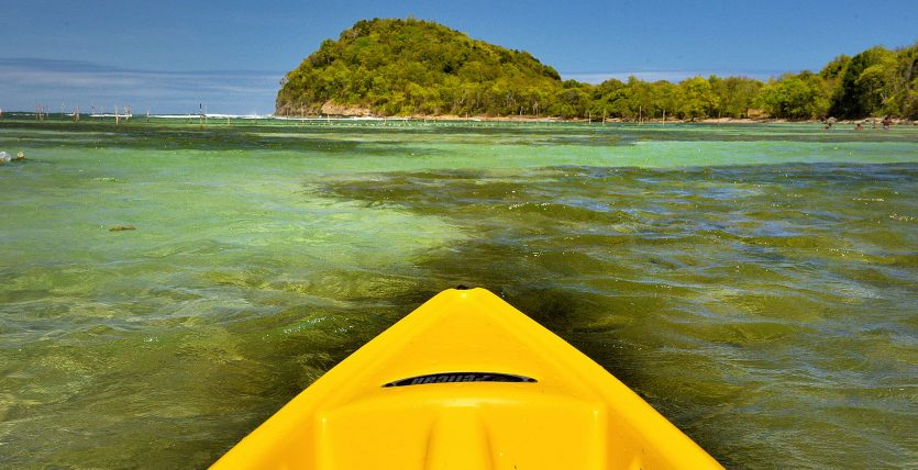 Kayak on the Bay, Saint Lucia new attraction
