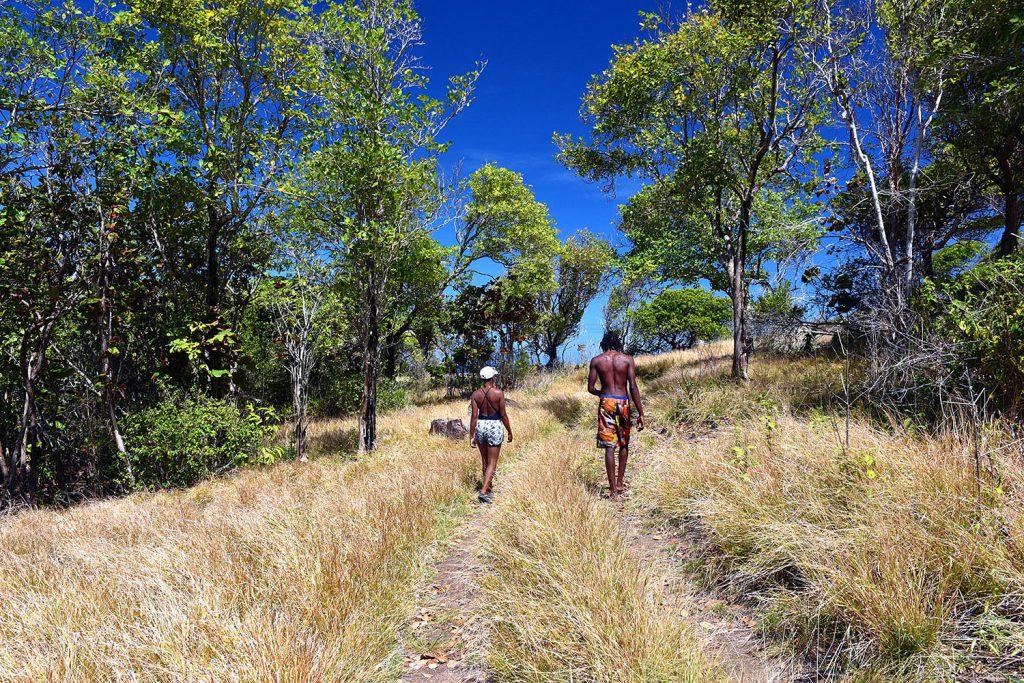 Hiking for Panoramic Views of Praslin Island