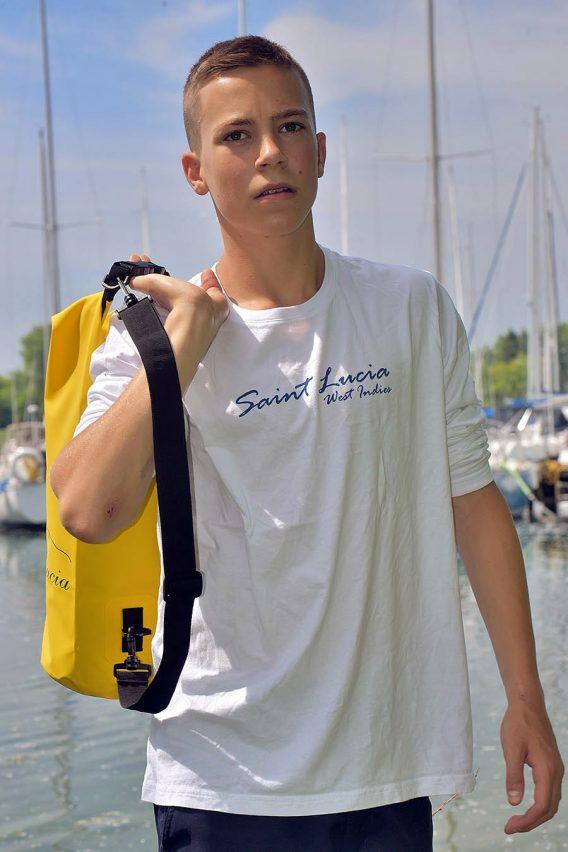 St. Lucia Long sleeve t-shirt