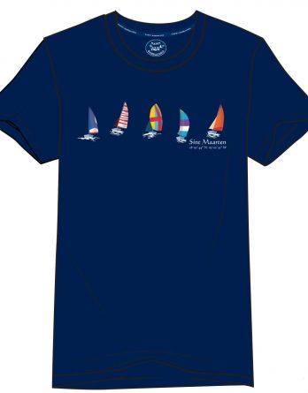 St. Lucia Sail Boats t-shirt