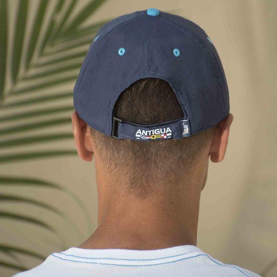 Lightweight Baseball Cap Navy Back Velcro