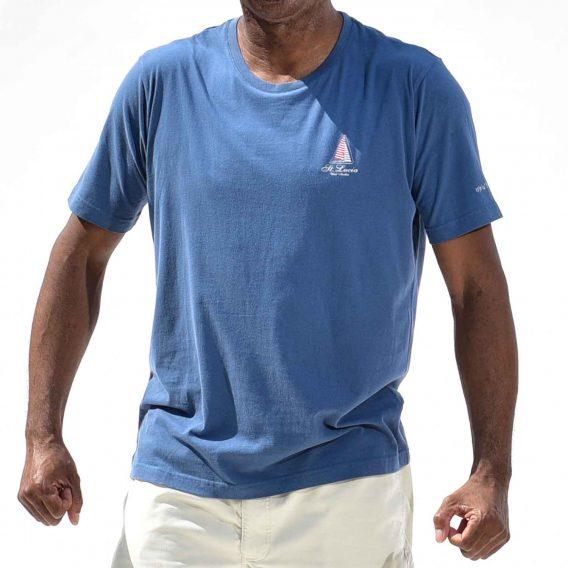 Happy Barracuda T-shirt Blue Nautical Style
