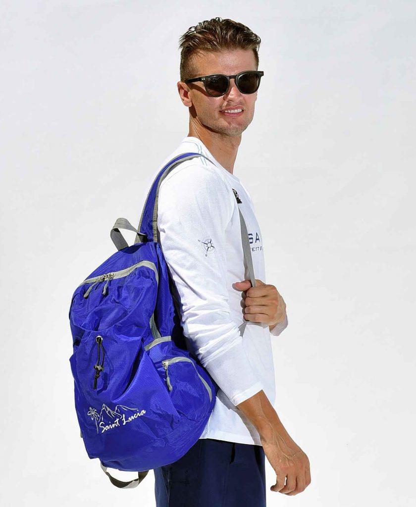 Happy Barracuda Travel Backpack Foldable, light nylon